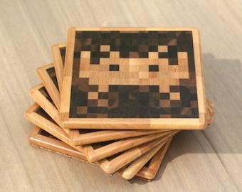 Space Invaders TM Coasters