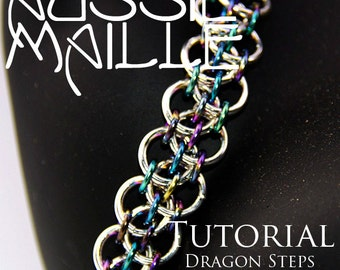 Chain Maille  Tutorial - Dragon Steps Bracelet
