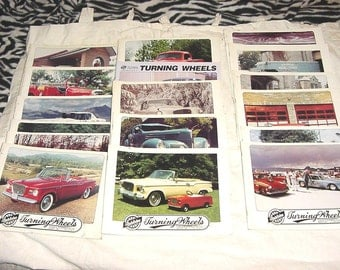 Lot 17 Turning Wheels Studebaker Car Collectors Magazines 1990s