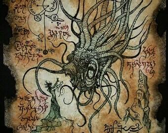 STAR VAMPIRE cthulhu larp necronomicon magick occult horror