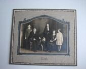 Antique Photograph Milwaukee Wisconsin Catholic Family with Teen Novitiate