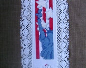Statue of Liberty Americana Counted Cross-Stitch Bookmark