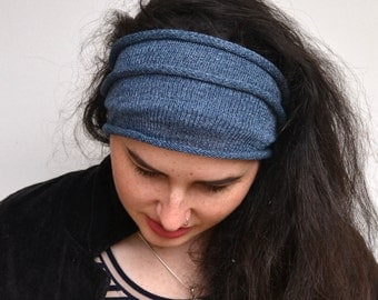 Dread Wrap /Headband in blue