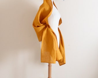 Christmas gift idea linen wrap shawl  / shawl / scarf / women scarf / wedding shawl / linen shawl / long shawl / long scarf /shawl for dress