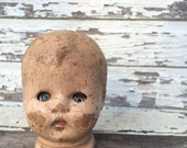 Antique baby doll head