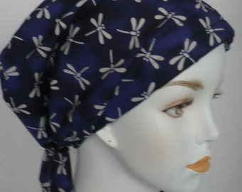 Dragonfly Chemo Cancer Hair Loss Scarf Turban Hat Bad Hair Day Headcover Hairwrap