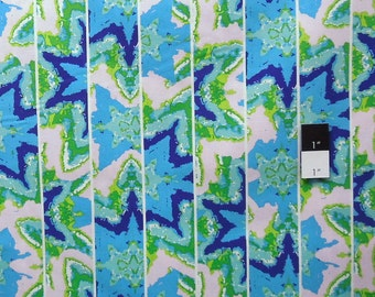 CLEARANCE Free Spirit Design Loft PWFS007 Kaleidoscope Shift Lime Cotton Fabric 1 Yard