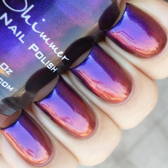 Pigment Of My Imagination Multichrome Color Shifting Nail