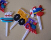 childrens cupcake and cake toppers