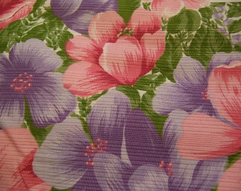 flower garden border fabric