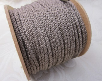 3 Metres 4mm Cocoa Brown Lacing Cord