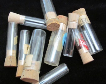 Vintage Watchmakers Vials Steampunk Altered Art Mixed Media Assemblage VI 29