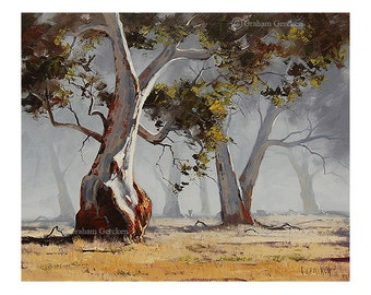 Painting print wall art prints from my Original Oil Painting Australian Art Landscape