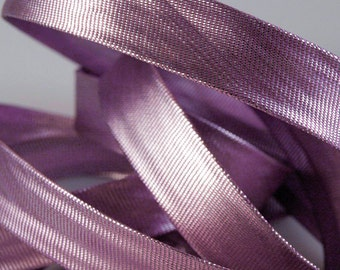 Czech Republic 5 Yards Metallic Bias Binding Tape 15mm  Lilac