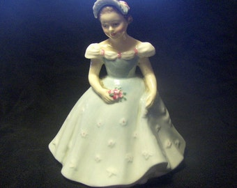Royal Doulton Bridesmaid Figurine HN 2196 Porcelain