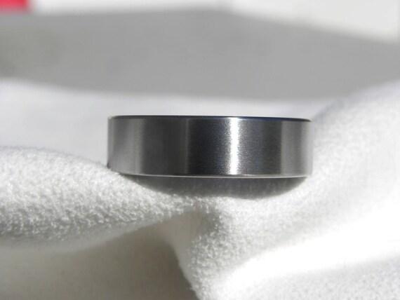 Titanium Ring or Wedding Band, Classic Style, Satin Finish, Wedding Ring, Mens Ring