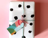 Sweet William Gift Wrap Pack, includes tags and card