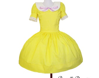 Custom Collared Butter Dress custom in your size