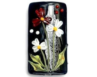Maria's Bouquet Kalera Focal Bead - Handmade Glass Lampwork Beads 11833303
