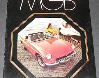 1973 MGB Sales Brochure