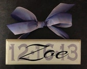 Milestone Date Plaques for Birthdays and Weddings