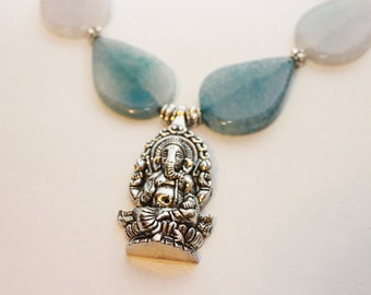 SALE-Hindu Ganesh Necklace