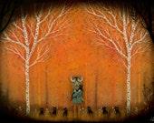 Forest Fellowship Print