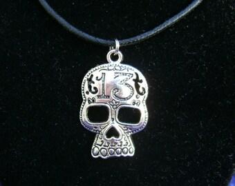 13 Skull Necklace