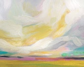 "Fine Art Print ""Rejoice & Renew"" oil landscape painting"