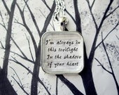 Cosmic Love by Florence and the Machine Song Lyric Pendant Necklace or key Chain