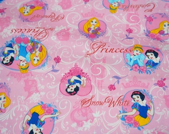 Disney Licensed  Fabric Disney Princess fabric Half meter