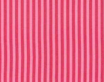 Five (5) Yards - Clown Stripe Candy Pink Fabric Michael Miller CX3584-CAND-D