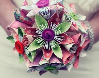 The Multicoloured Kusudama Bouquet
