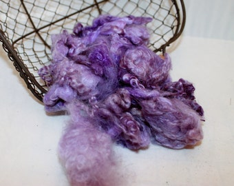 Lilac purple Mohair Locks #627