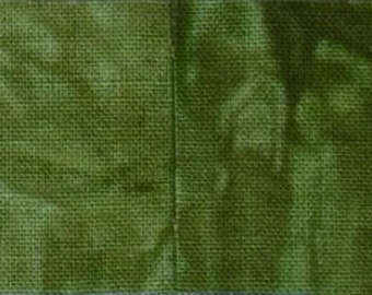 Starr Design 4 Pack Fat Quarters Tall Timber  Hand Dyed Cotton Fabrics