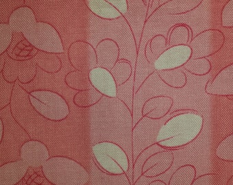 Junebug C7298 Pink by Timeless Treasures 1/2 yd cuts cotton fabric