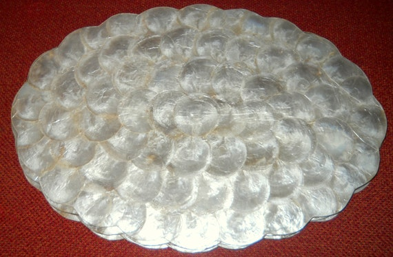 Sale Beautiful Mother Of Pearl Capiz Shell Medallion