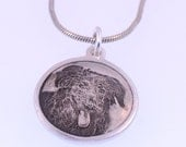 Photo engraving pendant