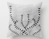Illustrated Decorative Pillow // throw pillow cover // accent pillow // cushion cover // home goods // illustration // nature decor