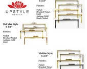 Metal Purse Frames - Pick any 12 frames - DIY Clutch Purse Frame - As seen on The Martha Stewart Show - Ships from the USA
