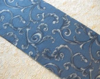 Five Buck Fleece Scarf Blow Out at SylMarCreations! * Filigre Art Print in Blue Winter Fleece Scarf