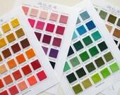 Felt Swatch Book, Pure Merino Wool, Color Samples, Wool Felt Swatches, DIY Crafts, Felt Color Chart, Sewing Notions, Wool Felt Sample