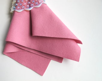 Wool Felt Fabric, Lavender Pink, Pure Merino Felt, Choose Size, Felt Square, Felt Sheet, Craft Felt, Felt Flowers, 100% Wool, Pink Felt