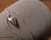 Puffy Heart Charm Dream it, Wish it, Wear it Bracelet/Anklet by Carmen Bowe