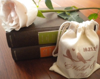 Cotton favor bags, 5x6. Unprinted natural cotton blank unstamped drawstring bags. DIY wedding favor bags