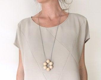 minimalist shirt geometric sand