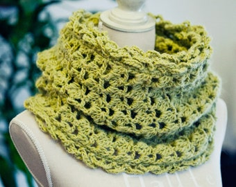 Crochet PATTERN - Olive Cowl