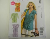 New Uncut McCall's Pattern 6703 Size Xsm-Med Tops and Dress