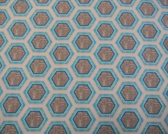 Ty Pennington Hive in Eventide Cotton Fabric PWTY036