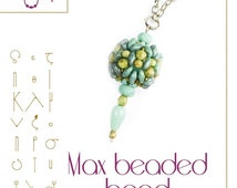 Beaded Bead Pattern Max - PDF instruction for personal use only